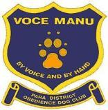 Para District Obedience Dog Club logo