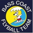 Bass Coast Flyball Team logo