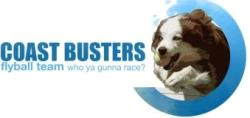 Coast Busters Flyball Team  logo