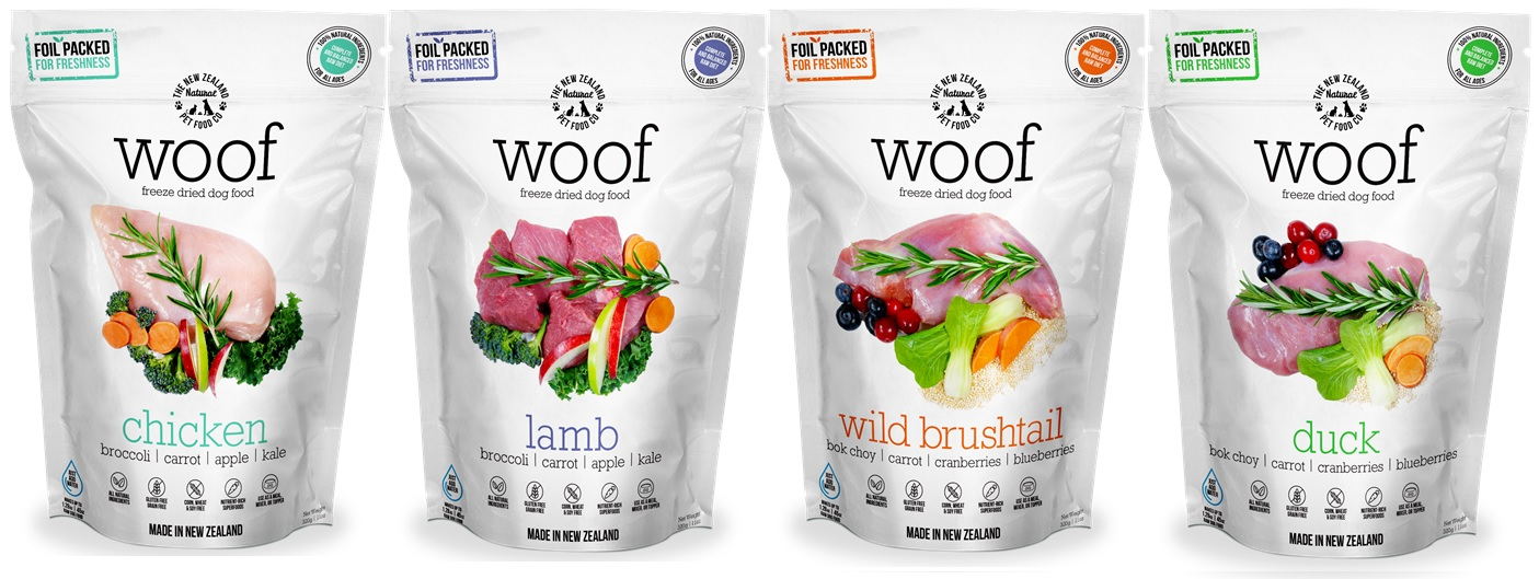 The NZ Natural Pet Food Co products